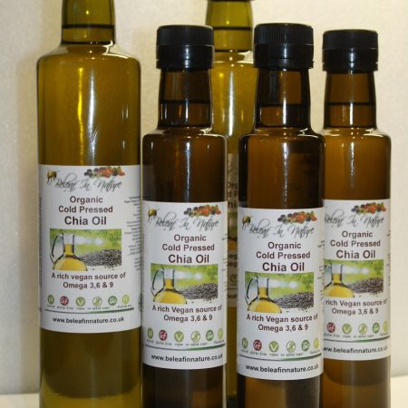 New Chia oil Beleaf in nature