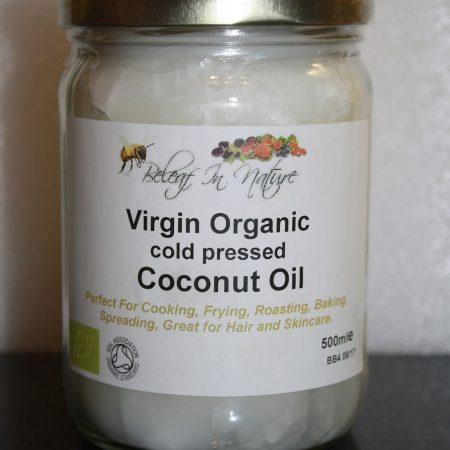 Raw Organic Coconut Oil