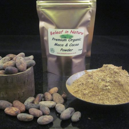 Raw Organic Premium Maca and Cacao Powder