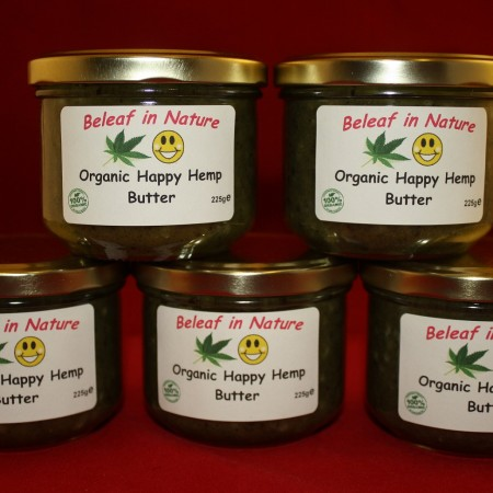organic happy hemp butter
