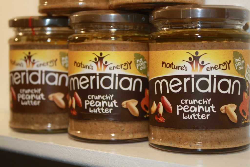 Slow Juicer Nut Butter : Meridian Crunchy Peanut Butter 100% Nuts - Beleaf in Nature, Superfoods and Slow Juicers