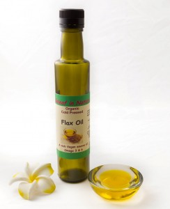 Organic 100% Pure Cold Pressed Flax Seed Oil 250ml