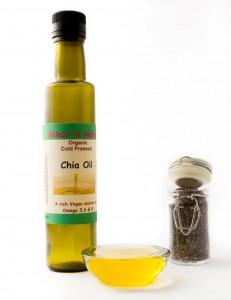 Organic Cold Pressed Chia Oil
