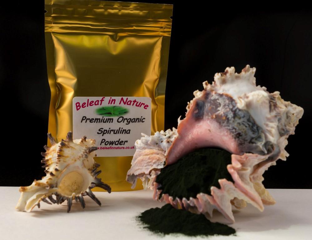 Pure Organic Premium Quality Arthrospira Platensis Spirulina