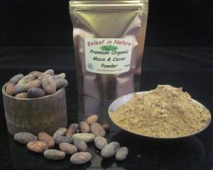 Raw Organic Premium Maca and Cacao Powder